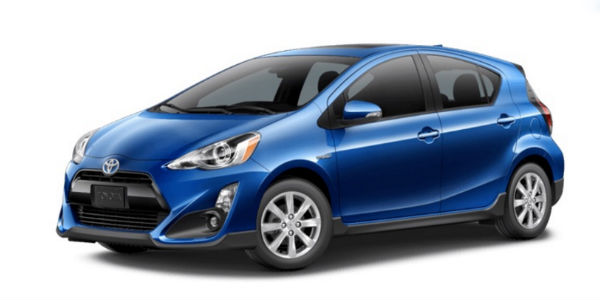 2017 Toyota Prius C in Blue Streak Metallic