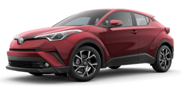 2018 Toyota C-HR Ruby Flare Pearl