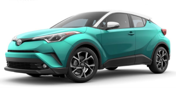 2018 Toyota C-HR Radiant Green Mica R-Code