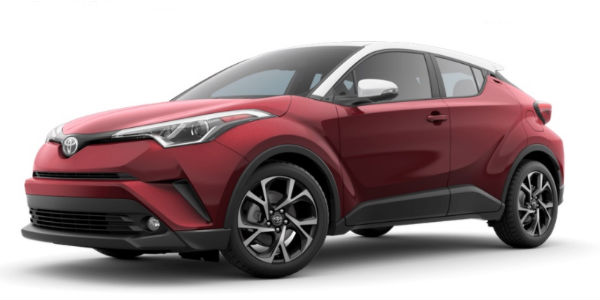 2018 Toyota C-HR Ruby Flare Pearl R-Code