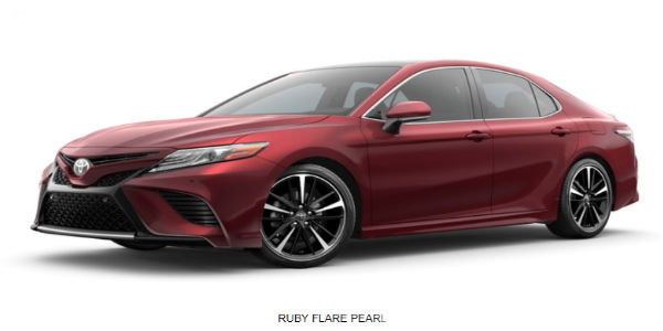 2018 toyota camry exterior color choices and model grade lineup. Black Bedroom Furniture Sets. Home Design Ideas