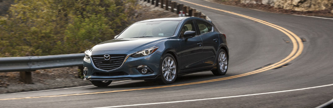How long can the Mazda 3 go on empty?