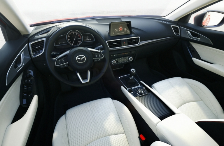 differences between the 2017 mazda6 and 2017 mazda3