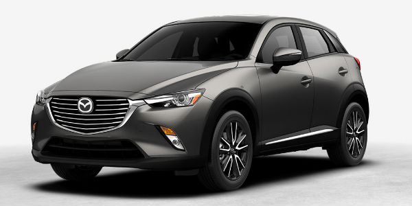 Meteor Gray Mica Exterior Coloring On The 2017 Mazda Cx 3