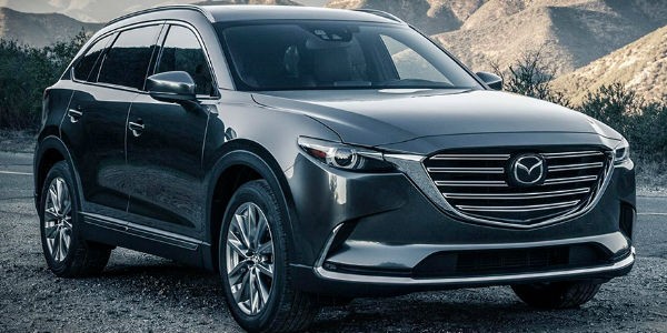 2016 Mazda CX-9 Exterior View in Gray