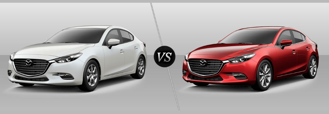 2017 mazda3 sport vs 2017 mazda3 touring comparison. Black Bedroom Furniture Sets. Home Design Ideas