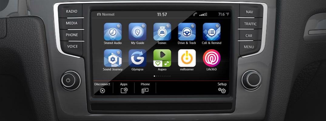 VW MIB II Infotainment System Smartphone Pairing Features