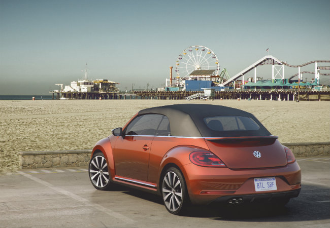 2016 VW Beetle in Habanero Orange Color New 2016 Volkswagen Beetle Color Options 2016 beetle new colors