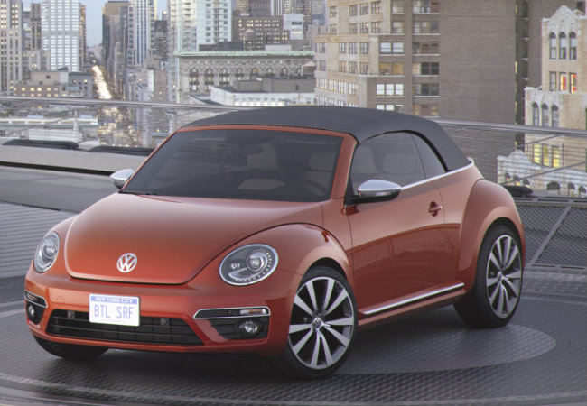 New 2016 Volkswagen Beetle Color Options  2016 VW Beetle in Habanero Orange Color