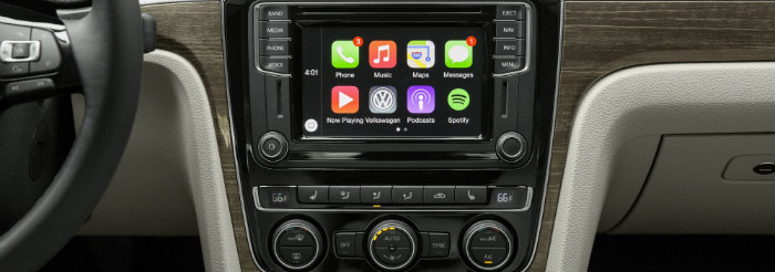 2016 VW Passat with New Infotainment System