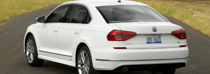 2016 VW Passat rear Design Features and Changes