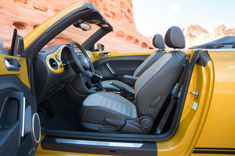 2016 vw beetle dune interior specs and features