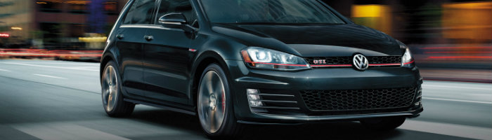 2016 vw golf gti in black