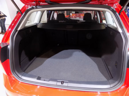 2017 vw golf sportwagen alltrack rear hatch cargo space room