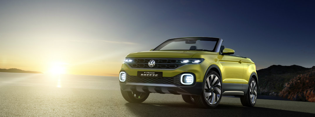 Volkswagen Previews New SUV Series With Unveiling of Convertible SUV Concept at the Geneva Motor Show