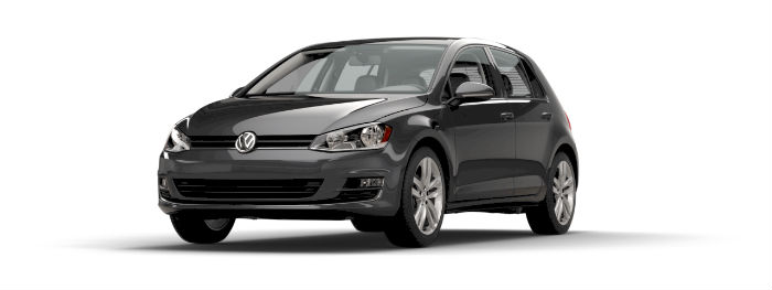 2016 vw golf in platinum gray metallic paint color