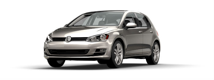 2016 vw golf in tingsten silver metallic paint color