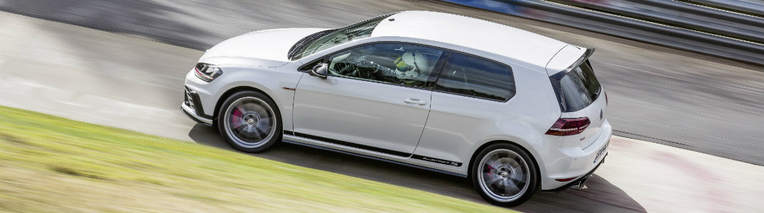 VW Golf GTI Clubsport S Performance and Nurburgring Time