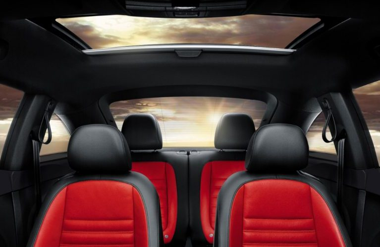 2017 volkswagen beetle interior headroom