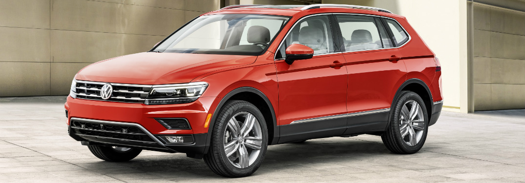 Will there be any changes for the Tiguan in 2018?