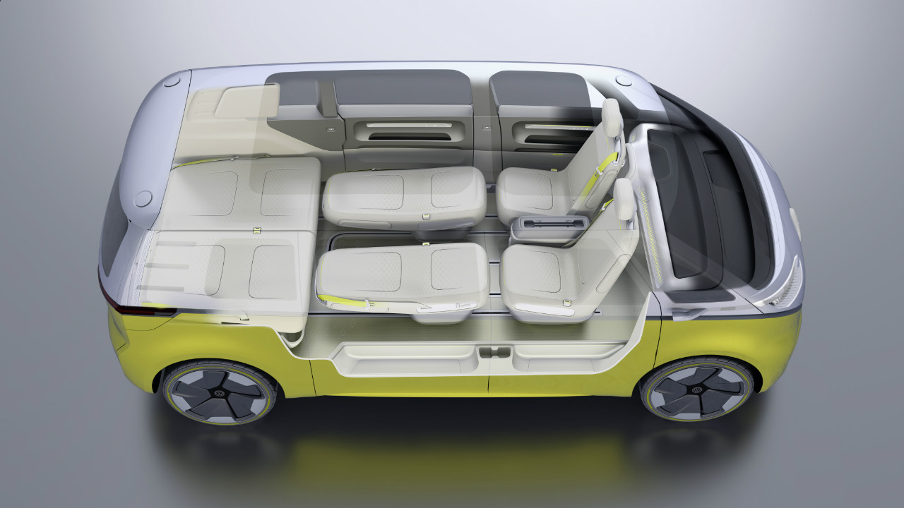 ID BUZZ Concept seating sleeper