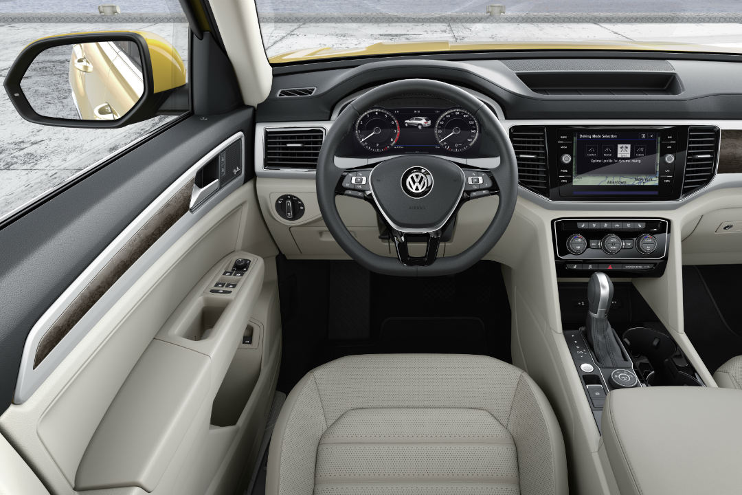 2018 Volkswagen Atlas drivers seat view