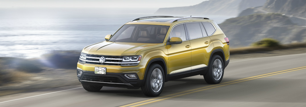 All-new VW Atlas SUV specifications and features