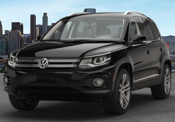 2017 VW Tiguan Deep Black Pearl