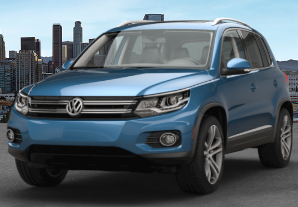 2017 VW Tiguan Pacific Blue Metallic