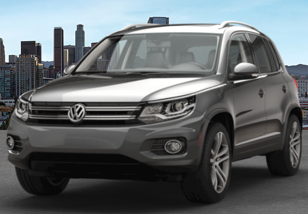 2017 VW Tiguan Pepper Gray Metallic