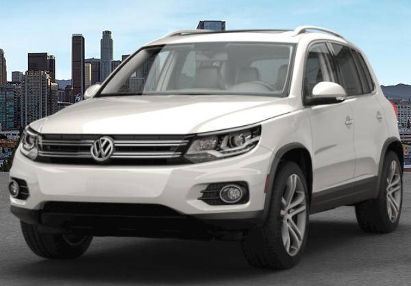 2017 VW Tiguan Pure White