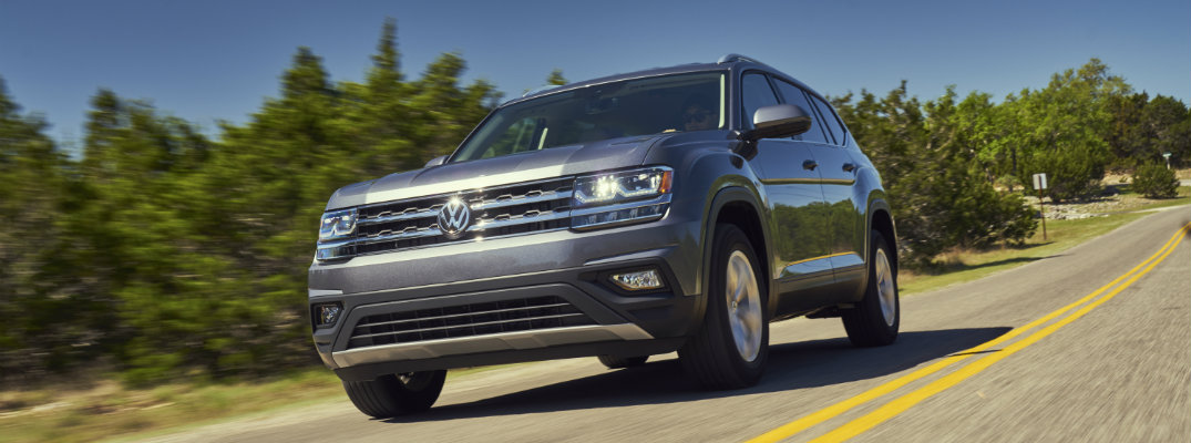 2018 Volkswagen Atlas available trim levels and pricing