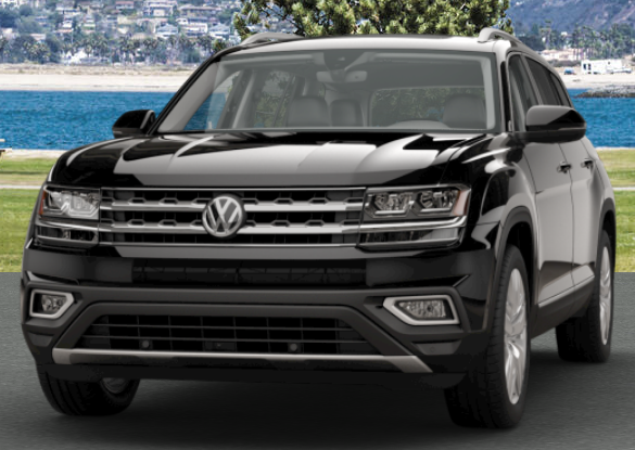 Deep Black Pearl VW Atlas