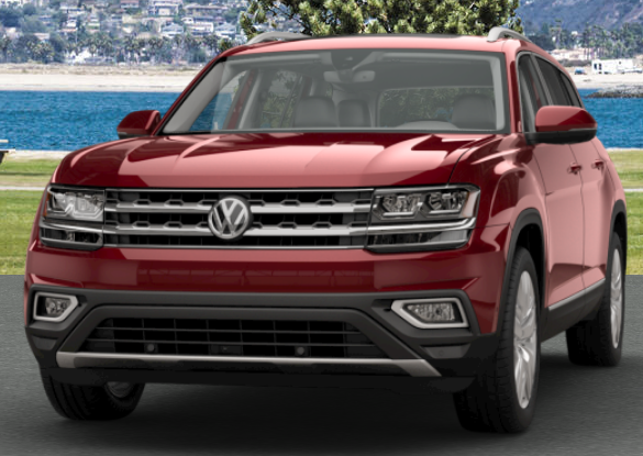 Fortana Red Metallic VW Atlas
