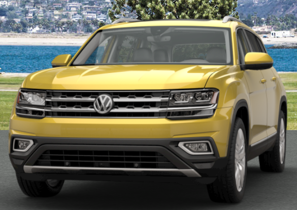 Kurkuma Yellow Metallic VW Atlas