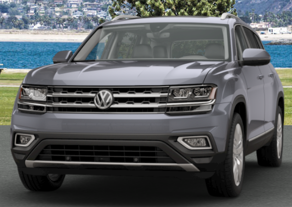 Platinum Gray Metallic VW Atlas
