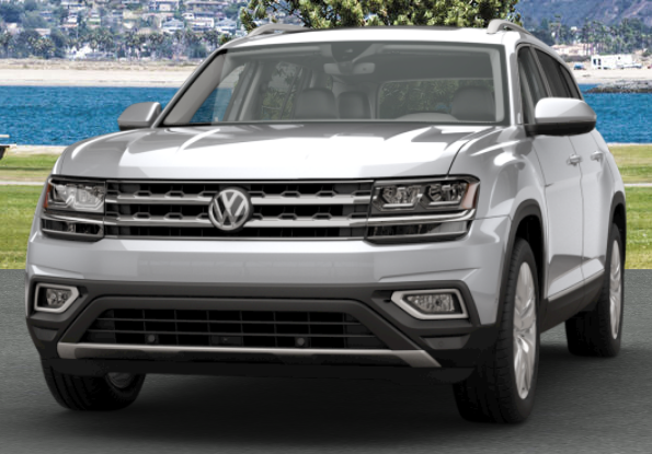 2018 Volkswagen Atlas Exterior Color Options