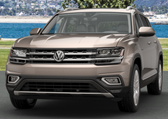 Titanium Beige Metallic VW Atlas