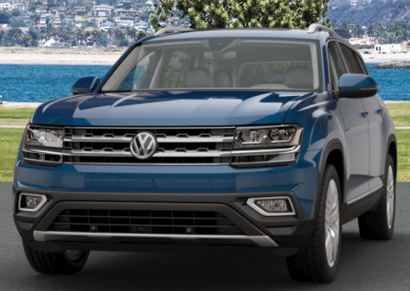 Tourmaline Blue Metallic VW Atlas