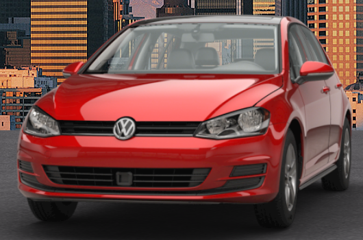 2017 VW Golf Tornado Red