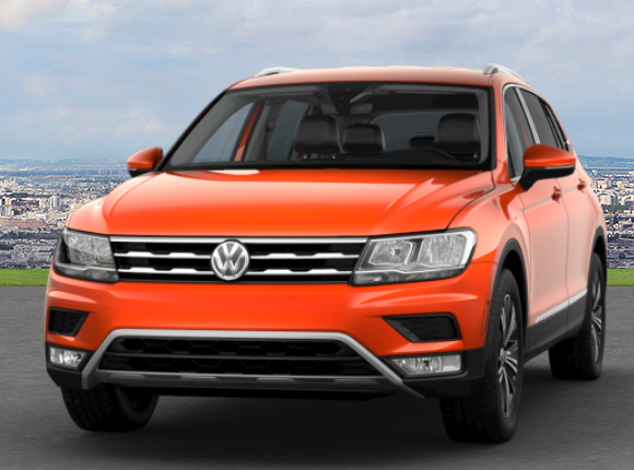 Habanero Orange Metallic Tiguan