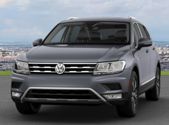 Platinum Gray Metallic Tiguan