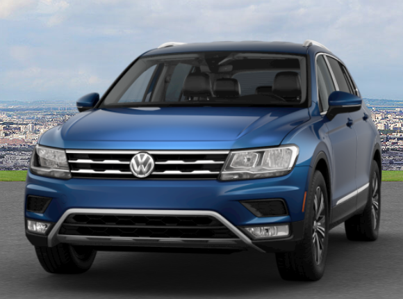 Silk Blue Metallic Tiguan