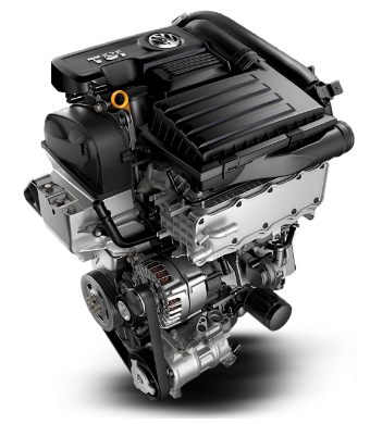 2017 Jetta 1.4 liter engine