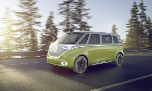 Volkswagen I.D. BUZZ concept features