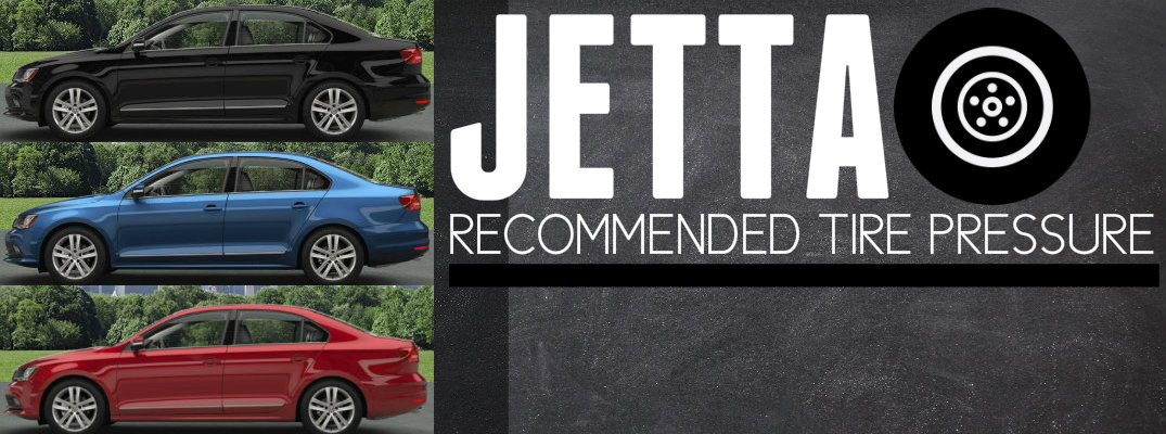Recommended Tire PSI Volkswagen Jetta