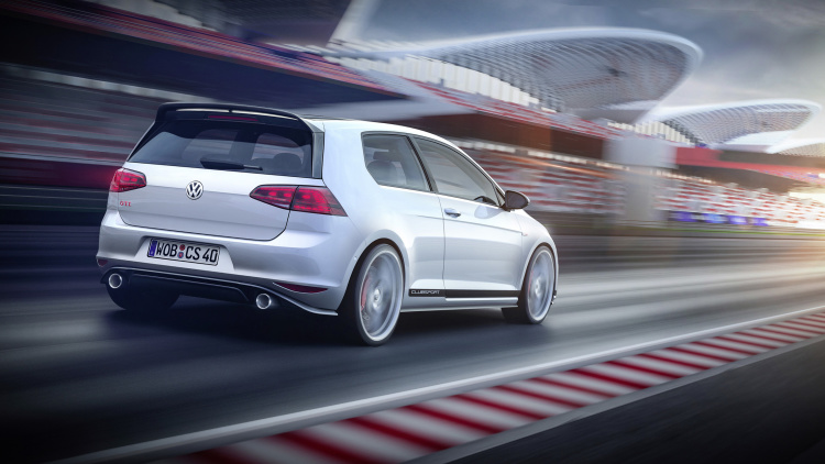 VW GTI Clubsport Anniversary Concept