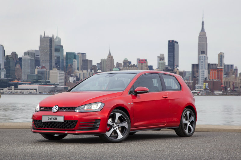 2016 Volkswagen Golf GTI updated technology