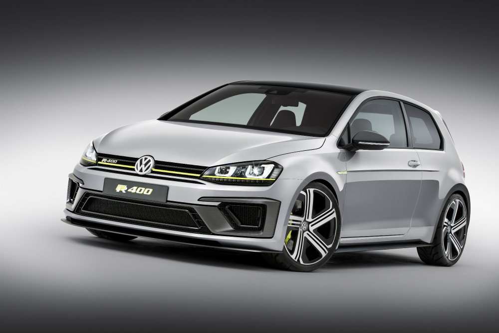 2016 VW Golf R400 Design