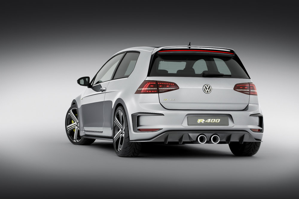 2016 VW Golf R400 features